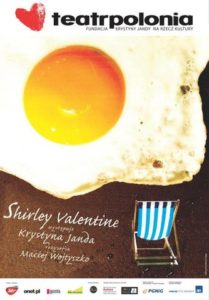 "Plakat ""Shirley Valentine"""