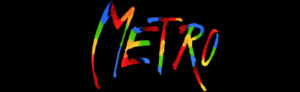 """Metro"". Plakat."