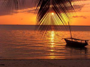 Zanzibar, widok na ocean