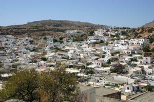 Widok na wyspę Rodos