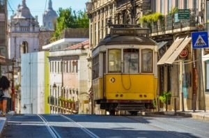 Lizboan tramwaje