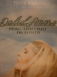 """Dalidamore"" plakat"