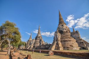 Ayutthaya - jedna z atrakcji tajlandii
