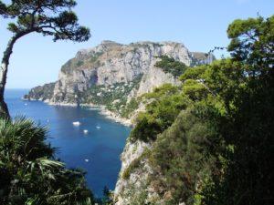 Capri morze