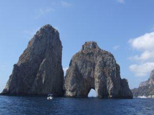 Formacje skalne Capri