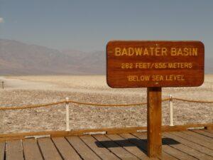 Badwater dolina smierci