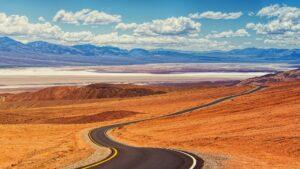 Dolina Śmierci pejzaż