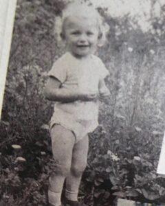 Katarzyna Żak w dzieciństwie