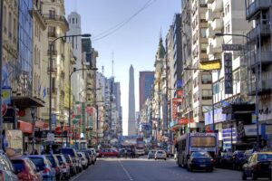 Buenos Aires główna ulica